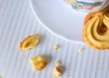 黄油曲奇饼 免版税库存照片