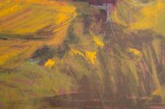 油柔和的淡色彩背景 库存例证