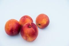 油桃和桃子 免版税库存图片