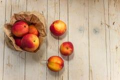 油桃 吃健康 库存照片
