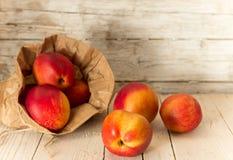 油桃 吃健康 库存图片