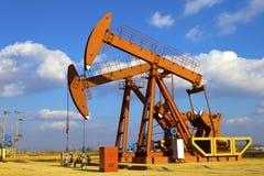 油泵杰克 免版税库存图片