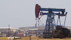 油泵,泵浦起重器 化石燃料能,老脉动单元 股票录像