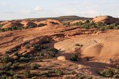 油滑的岩石 免版税库存照片