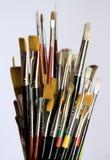 油漆刷 免版税库存图片