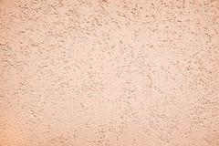 油漆威尼斯式精美黄褐色淡色抽象纹理背景的污点 库存图片