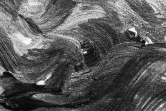 油漆抽象水彩刷子冲程在白皮书backgr的 免版税库存图片