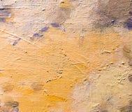 油漆抽象背景在帆布的 免版税库存图片