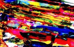 油漆明亮的抽象对角污迹  图库摄影