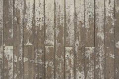 油漆被剥皮的白色木地板板条背景 图库摄影