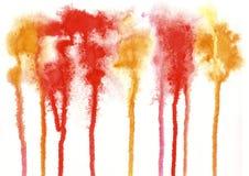 油漆,颜色背景,水彩,抽象绘画颜色tex 免版税库存照片