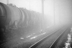 油火车 免版税图库摄影