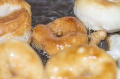 油炸圈饼 库存图片