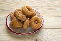 油炸圈饼 免版税库存照片