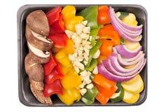 油炸物健康混乱蔬菜 库存图片
