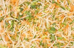 油炸物混乱蔬菜 免版税库存图片