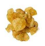 油炸马铃薯片-土豆片 图库摄影