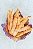 油煎土豆甜点 图库摄影
