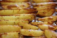 油煎的土豆1 库存照片