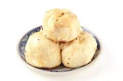 油煎的小圆面包汉语 免版税库存照片
