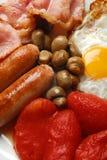 油煎的早餐英语 免版税图库摄影