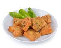 油煎的猪肉小圆面包开胃菜 库存照片