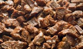油煎的肉 图库摄影