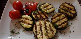 油煎的蔬菜 免版税库存照片