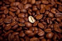 油煎的豆咖啡 免版税图库摄影