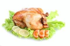 油煎的鸡 免版税库存照片