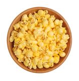 黄油玉米花 免版税库存照片