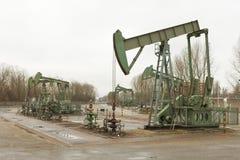 油田运算 免版税库存照片