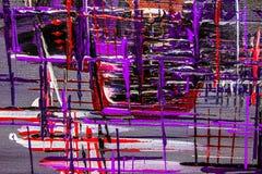 油画抽象,明亮的颜色 背景 免版税库存照片