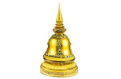 油画stupas 免版税图库摄影