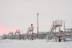 油的提取在北部领域的 免版税图库摄影