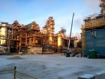 油砂建筑阶段 库存照片
