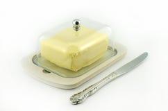 黄油箱子 库存图片