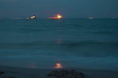 油船 免版税库存图片