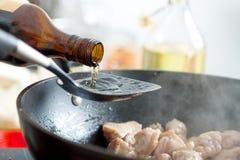 油调味料 免版税图库摄影