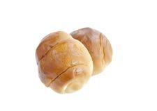 黄油面包小圆面包 免版税图库摄影