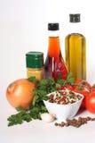 油香料蔬菜 免版税库存照片