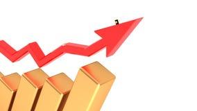 油,柴油的涨价 油价上涨 39 库存例证