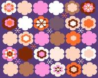 治疗花卉模式 库存照片