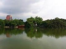 沿一条河在越南 库存图片