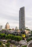 沿乌节路,新加坡的离子果树园 免版税图库摄影