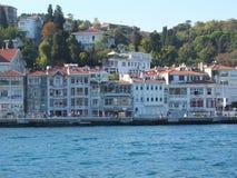 沿伊斯坦布尔岸  库存图片