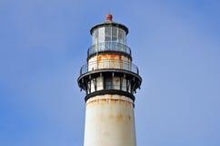 沿大瑟尔加利福尼亚的灯塔 库存照片