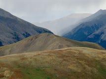 沿大陆分水岭的降雨量, Sawatch范围,科罗拉多 图库摄影