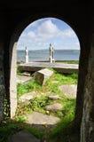 沿岸航行严重爱尔兰站点西部 库存图片