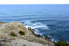 沿岸航行西班牙语 免版税库存图片
